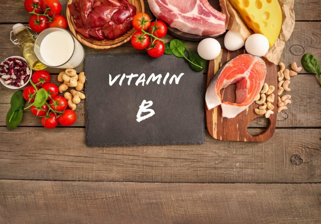 ビタミンB群の効果と摂取できる食べ物は?
